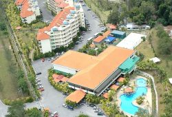 Sky View of Teluk Batik Resort