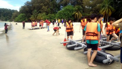 Beach Group Activity